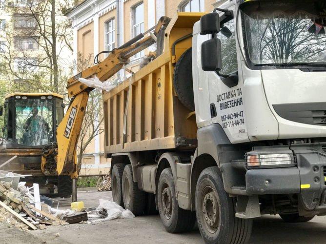 вывоз мусора со строительной площадки