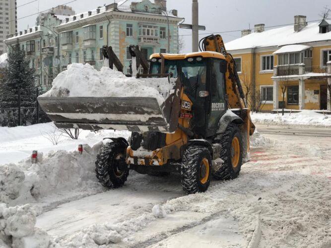 Уборка и вывоз снега - Трансавтогруп